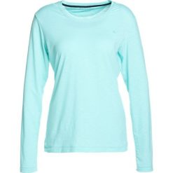 Schöffel LONGSLEEVE LA MOLINA Koszulka sportowa turquoise. Niebieskie topy sportowe damskie Schöffel, z elastanu. Za 229,00 zł.