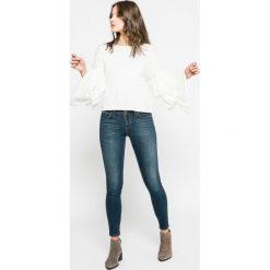 Only - Sweter. Szare swetry klasyczne damskie marki ONLY, s, z bawełny, z okrągłym kołnierzem. W wyprzedaży za 59,90 zł.