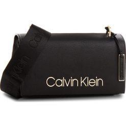 Torebka CALVIN KLEIN - Ck Candy Shoulder K60K604303  001. Czarne listonoszki damskie Calvin Klein, ze skóry ekologicznej. Za 649,00 zł.