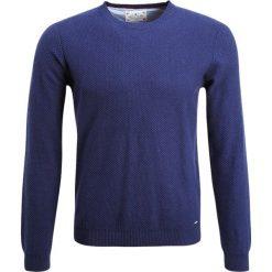 Swetry klasyczne męskie: Cortefiel CAJA ESTRUCTURA Sweter marine blue