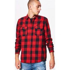 Koszula w kratę z kolekcji BALTIC GAMES - Czerwony. Fioletowe koszule męskie marki Cropp, l. Za 79,99 zł.