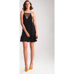 Sukienki hiszpanki: Moss Copenhagen JANN Sukienka z dżerseju black