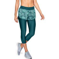 Spodnie sportowe damskie: Under Armour Spodnie damskie Armour Fly Fast Prnt Shapri zielone r. M (1309195-716)