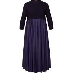 Długie sukienki: WEEKEND MaxMara ZUCCA Długa sukienka blu marino