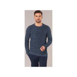 Swetry Selected  NEW VINCE BUBBLE. Szare swetry klasyczne męskie marki Selected, l, z materiału. Za 175,20 zł.