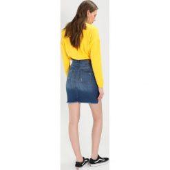 Minispódniczki: Noisy May NMBE LEXI BUTTON SKIRT  Spódnica jeansowa medium blue denim