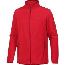 Kurtka polarowa w kolorze czerwonym. Czerwone kurtki męskie bomber OCK, m, z polaru. W wyprzedaży za 65,95 zł.