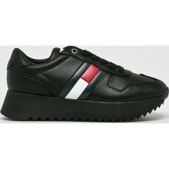 Tommy Jeans - Buty. Czarne buty sportowe damskie Tommy Jeans, z jeansu. Za 399,90 zł.