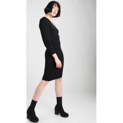 Sukienki hiszpanki: b.young TATTA DRESS Sukienka z dżerseju black