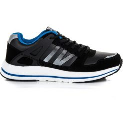 Wiązane buty sportowe MARISOL. Czarne buty skate męskie AX BOXING. Za 109,00 zł.