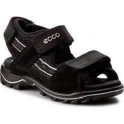 Sandały ECCO - Urban Safari Kids 73214251052 Black/Black. Czarne sandały męskie skórzane marki ecco. Za 329,90 zł.
