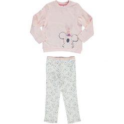 Spodnie niemowlęce: 2-częściowy zestaw w kolorze jasnoróżowo-białym