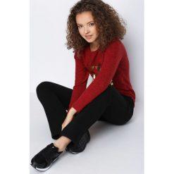 Spodnie dresowe damskie: Czarne Spodnie Dresowe Together Again