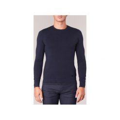 Swetry Armani jeans  MEMEL. Czarne swetry klasyczne męskie marki Armani Jeans, z jeansu. Za 482,30 zł.