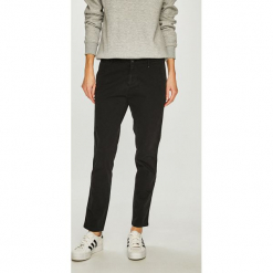 Tommy Jeans - Spodnie. Szare jeansy damskie rurki marki Tommy Jeans. Za 399,90 zł.