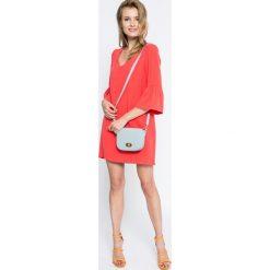 Answear - Sukienka Blossom Mood. Różowe sukienki mini marki ANSWEAR, na co dzień, l, z materiału, casualowe, proste. W wyprzedaży za 79,90 zł.