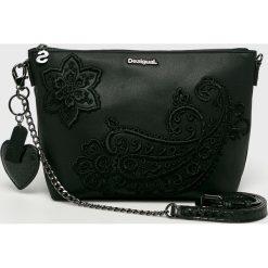 Desigual - Torebka. Czarne torebki klasyczne damskie Desigual, z poliesteru, duże. Za 299,90 zł.