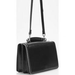 Torebka w stylu retro - Czarny. Czarne torebki klasyczne damskie Reserved. Za 119,99 zł.