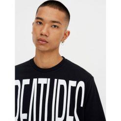 T-shirty męskie: Koszulka z krótkim rękawem i dużym napisem
