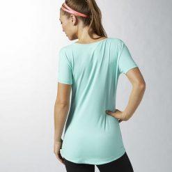 KOSZULKA REEBOK SPORT ESSENTIALS B86169. Brązowe bluzki sportowe damskie marki Reebok. Za 49,00 zł.