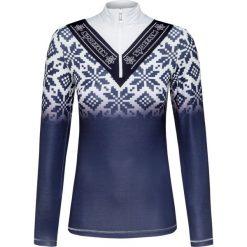 b061967fd45f75 Niebieskie swetry damskie Sportalm, bez wzorów, z tkaniny, retro