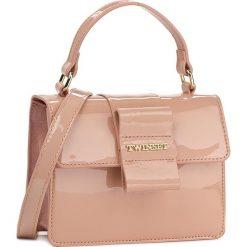 Torebka TWINSET - Cartella OA7TJB  Rosa Pol 00401. Czerwone torebki klasyczne damskie marki Reserved, duże. W wyprzedaży za 519,00 zł.
