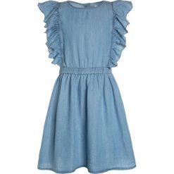 Sukienki dziewczęce z falbanami: GAP GIRLS Sukienka jeansowa light indigo