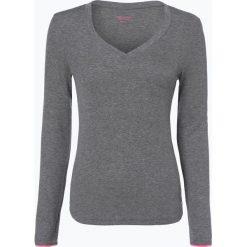 T-shirty damskie: Marc O'Polo Denim - Damska koszulka z długim rękawem, szary