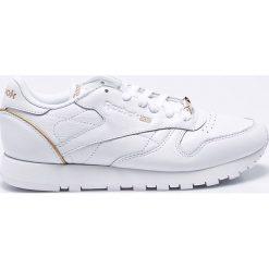 Reebok Classic - Buty Sleek Met. Szare buty sportowe damskie reebok classic Reebok Classic, z gumy. W wyprzedaży za 269,90 zł.