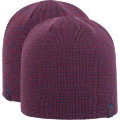 Czapka męska CAM256Z - bordowo-granatowy melanż - 4F. Czerwone czapki zimowe męskie marki 4f, na jesień, melanż, z materiału. Za 22,99 zł.