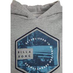 Billabong SIX  Bluza z kapturem grey heather. Szare bluzy chłopięce rozpinane marki Billabong, z bawełny, z kapturem. W wyprzedaży za 188,10 zł.