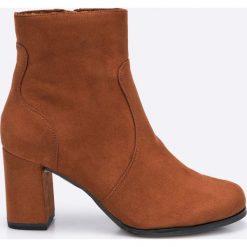 Tamaris - Botki. Czarne buty zimowe damskie marki Mohito, na obcasie. W wyprzedaży za 159,90 zł.