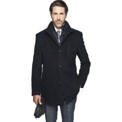 Płaszcze męskie: płaszcz alene granatowy