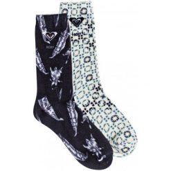 Roxy Skarpetki Mid Calf J Sock kvj0 Anthracite. Szare skarpetki damskie Roxy, z bawełny. Za 89,00 zł.