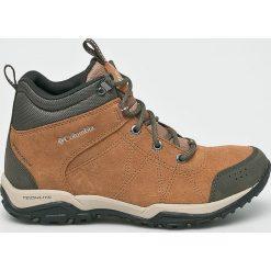 Columbia - Buty Fire Venture Mid. Brązowe buty trekkingowe damskie marki Trespass. W wyprzedaży za 399,90 zł.