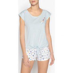 Piżamy damskie: Piżama letnia z wzorem
