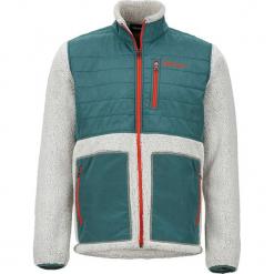 """Kurtka polarowa """"Mesa"""" w kolorze morsko-białym. Białe kurtki męskie marki Marmot, m, z polaru. W wyprzedaży za 272,95 zł."""