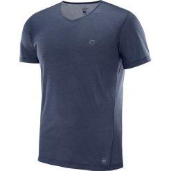 Salomon Koszulka męska Cosmic Block SS Tee Night Sky r. L (400951). Szare koszulki sportowe męskie marki Salomon, z gore-texu, na sznurówki, outdoorowe, gore-tex. Za 125,74 zł.