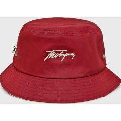 True Spin - Kapelusz. Czerwone kapelusze męskie marki True Spin, z bawełny. Za 39,90 zł.