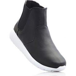 Buty sportowe damskie: Wysokie buty sportowe bonprix czarny