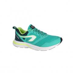 Buty do biegania RUN ONE ACTIVE damskie. Fioletowe buty do biegania damskie marki KALENJI, z gumy. Za 99,99 zł.