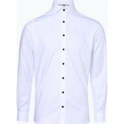 Finshley & Harding - Koszula męska, czarny. Czarne koszule męskie na spinki Finshley & Harding, m, z bawełny, z włoskim kołnierzykiem. Za 179,95 zł.