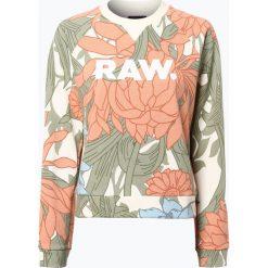 Bluzy damskie: G-Star - Damska bluza nierozpinana, biały