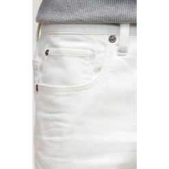 GStar 3301 SLIM Jeansy Slim fit inza white stretch denim. Białe jeansy męskie G-Star. W wyprzedaży za 367,20 zł.