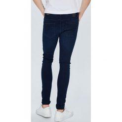 Only & Sons - Jeansy Spun. Niebieskie jeansy męskie slim Only & Sons, z bawełny. W wyprzedaży za 79,90 zł.