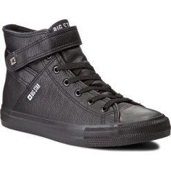 Trampki BIG STAR - Y174020 Black. Czarne trampki męskie marki BIG STAR, z gumy. Za 119,00 zł.