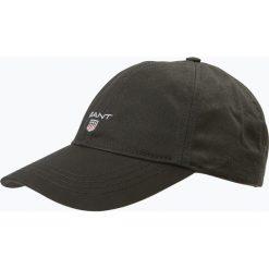 Gant - Męska czapka z daszkiem, czarny. Czarne czapki z daszkiem męskie marki GANT, z bawełny, sportowe. Za 129,95 zł.