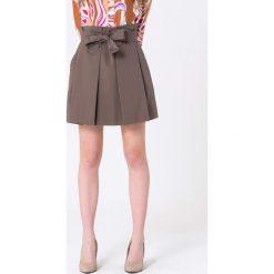 Minispódniczki: Spódnica w kolorze brązowym