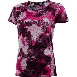 Topy sportowe damskie: Nike Koszulka damskie Dry Miler top Crew PR SU fioletowa r. M (847998 665)