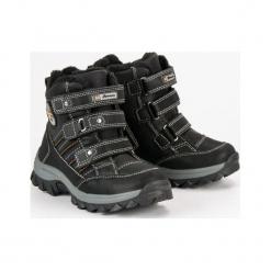 Buty dziecięce ciepłe na rzepy czarne r. 32. Czarne buciki niemowlęce American CLUB, na zimę, na rzepy. Za 141,29 zł.